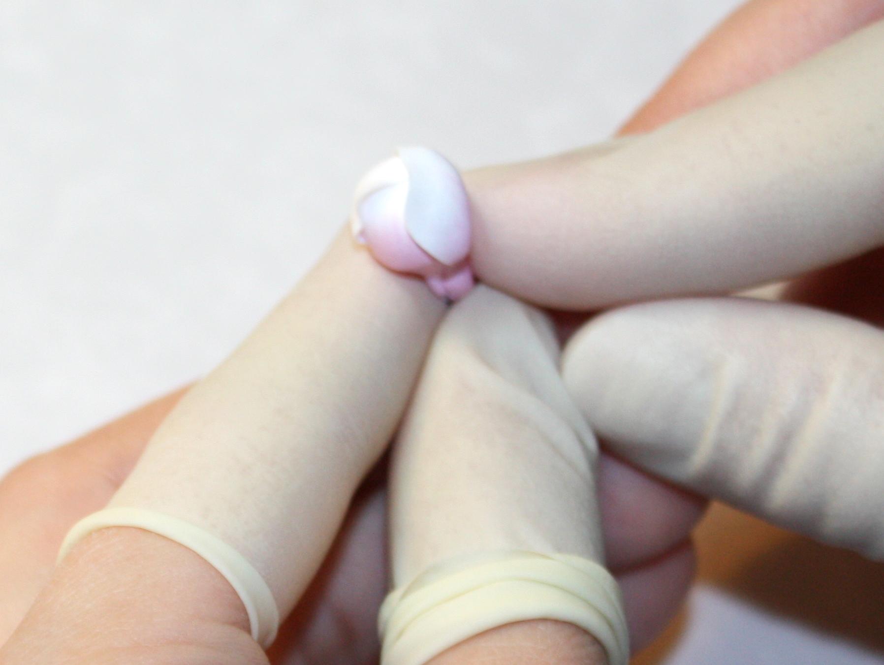 ліплення сакури з полімерної глини