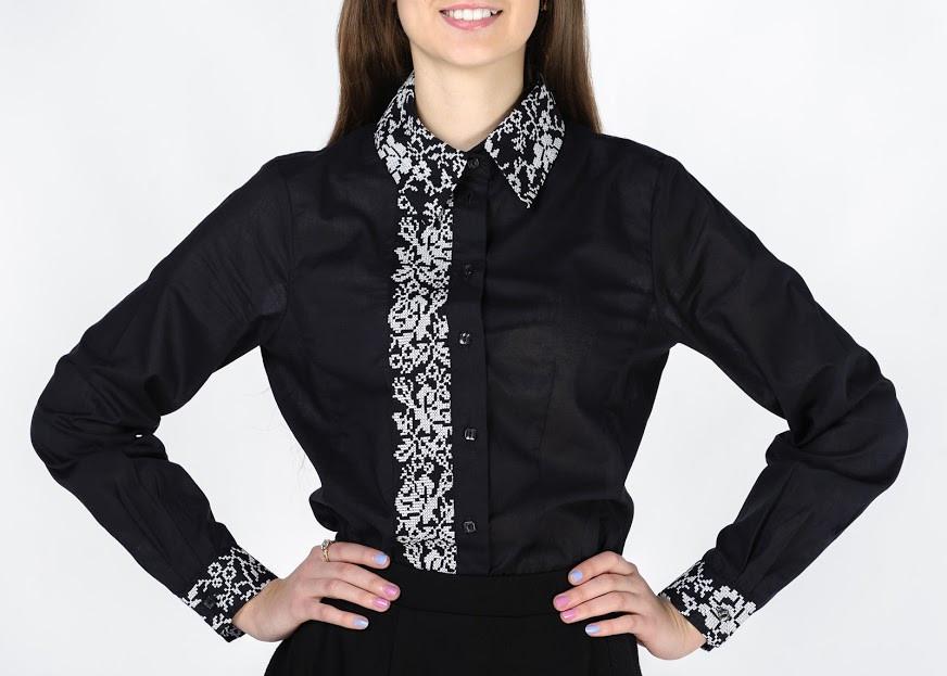 чорна вишиванка. Сорочки чорного кольору дуже любили українські ... d112a39399124
