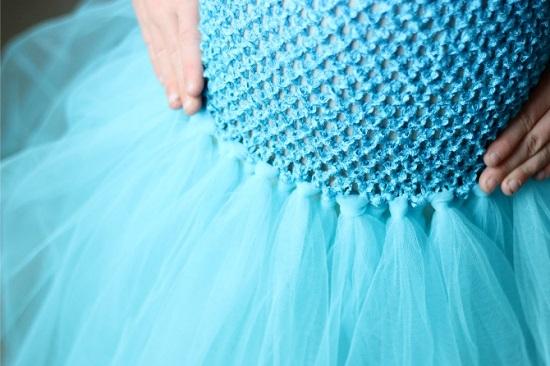 Плаття з фатину