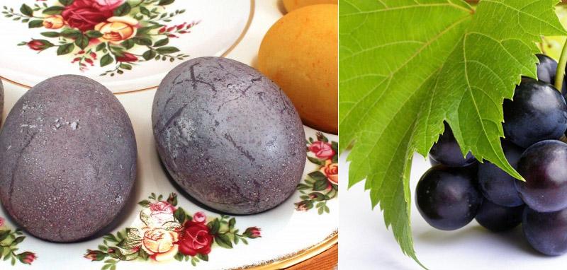 9 натуральних барвників для пасхальних яєць